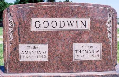 GOODWIN, THOMAS M. - Peoria County, Illinois | THOMAS M. GOODWIN - Illinois Gravestone Photos