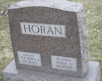 HORAN, ANNA E. - Peoria County, Illinois | ANNA E. HORAN - Illinois Gravestone Photos