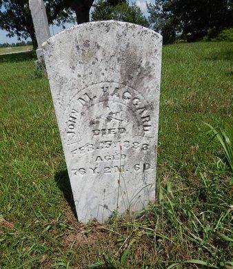 HAGGARD, JOHN M - Perry County, Illinois | JOHN M HAGGARD - Illinois Gravestone Photos