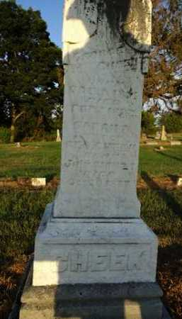 CHEEK, SARAH - Pike County, Illinois | SARAH CHEEK - Illinois Gravestone Photos
