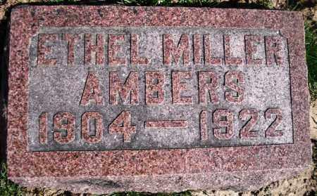 AMBERS, ETHEL - Rock Island County, Illinois | ETHEL AMBERS - Illinois Gravestone Photos