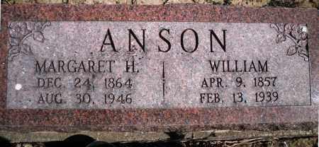 ANSON, MARGARET H. - Rock Island County, Illinois | MARGARET H. ANSON - Illinois Gravestone Photos