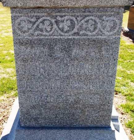 BORUFF, MARY G. - Rock Island County, Illinois   MARY G. BORUFF - Illinois Gravestone Photos