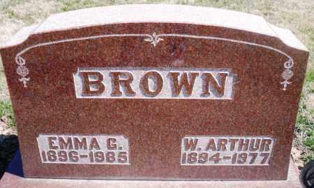 BROWN, EMMA G. - Rock Island County, Illinois   EMMA G. BROWN - Illinois Gravestone Photos