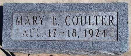 COULTER, MARY E. - Rock Island County, Illinois | MARY E. COULTER - Illinois Gravestone Photos