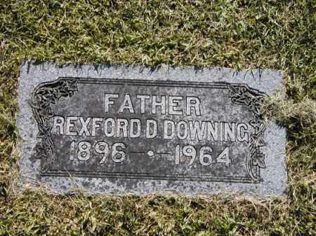 DOWNING, REXFORD - Rock Island County, Illinois | REXFORD DOWNING - Illinois Gravestone Photos