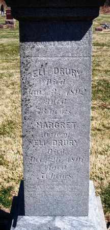 DRURY, MARGRET - Rock Island County, Illinois | MARGRET DRURY - Illinois Gravestone Photos