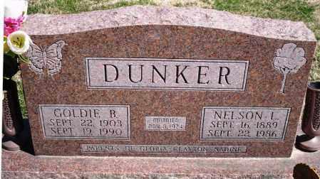 DUNKER, GOLDIE B. - Rock Island County, Illinois | GOLDIE B. DUNKER - Illinois Gravestone Photos