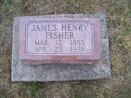 FISHER, JAMES HENRY - Rock Island County, Illinois   JAMES HENRY FISHER - Illinois Gravestone Photos