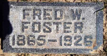FOSTER, FRED W. - Rock Island County, Illinois | FRED W. FOSTER - Illinois Gravestone Photos