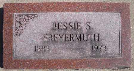FREYERMUTH, BESSIE S. - Rock Island County, Illinois | BESSIE S. FREYERMUTH - Illinois Gravestone Photos