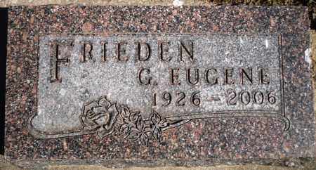 FRIEDEN, GEORGE EUGENE - Rock Island County, Illinois | GEORGE EUGENE FRIEDEN - Illinois Gravestone Photos
