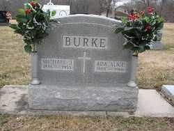 BURKE, MICHAEL JAMES - Sangamon County, Illinois   MICHAEL JAMES BURKE - Illinois Gravestone Photos