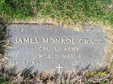 GRAGG, JAMES MONROE - Schuyler County, Illinois | JAMES MONROE GRAGG - Illinois Gravestone Photos