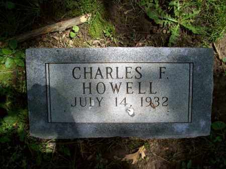 HOWELL, CHARLES F. - Schuyler County, Illinois | CHARLES F. HOWELL - Illinois Gravestone Photos