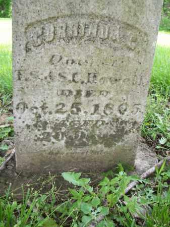 HOWELL, CORRINDA C. - Schuyler County, Illinois | CORRINDA C. HOWELL - Illinois Gravestone Photos