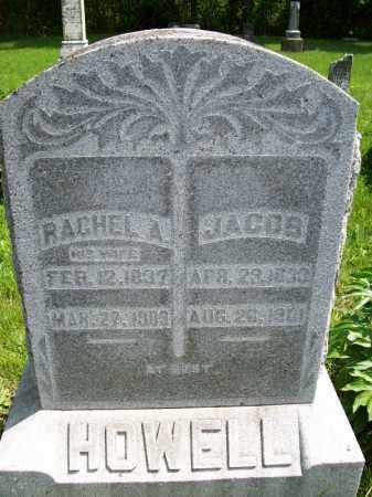 HOWELL, RACHEL A. - Schuyler County, Illinois | RACHEL A. HOWELL - Illinois Gravestone Photos