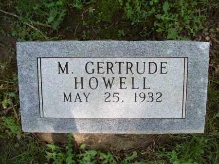 HOWELL, M. GERTRUDE - Schuyler County, Illinois | M. GERTRUDE HOWELL - Illinois Gravestone Photos