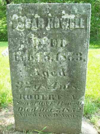HOWELL, ROBERT N. - Schuyler County, Illinois | ROBERT N. HOWELL - Illinois Gravestone Photos