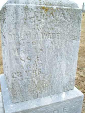 WADE, ELLA A - Schuyler County, Illinois | ELLA A WADE - Illinois Gravestone Photos