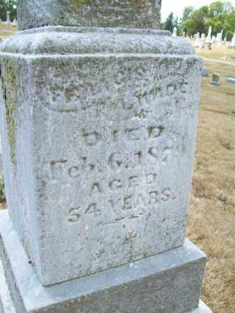 WADE, FRANCIS - Schuyler County, Illinois | FRANCIS WADE - Illinois Gravestone Photos
