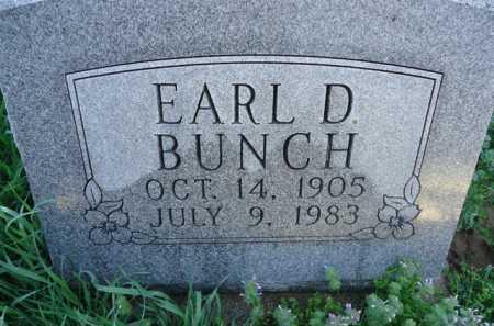 BUNCH, EARL D. - Scott County, Illinois | EARL D. BUNCH - Illinois Gravestone Photos