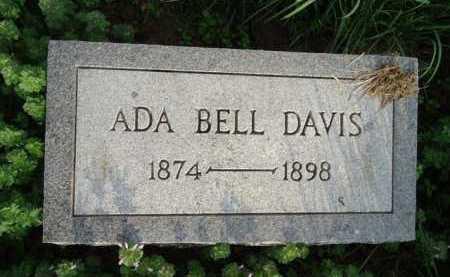 DAVIS, ADA BELL - Scott County, Illinois | ADA BELL DAVIS - Illinois Gravestone Photos
