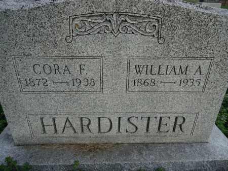 HARDISTER, CORA F. - Scott County, Illinois   CORA F. HARDISTER - Illinois Gravestone Photos