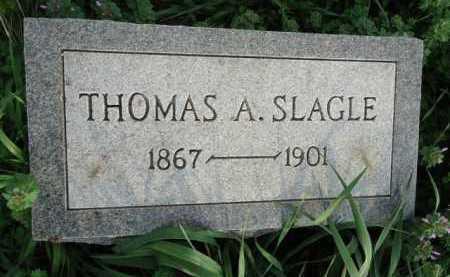 SLAGLE, THOMAS A. - Scott County, Illinois | THOMAS A. SLAGLE - Illinois Gravestone Photos