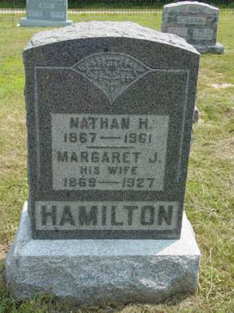 TETLEY HAMILTON, MARGARET J - Shelby County, Illinois | MARGARET J TETLEY HAMILTON - Illinois Gravestone Photos
