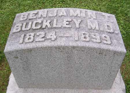 BUCKLEY, BENJAMIN T. - Stephenson County, Illinois   BENJAMIN T. BUCKLEY - Illinois Gravestone Photos