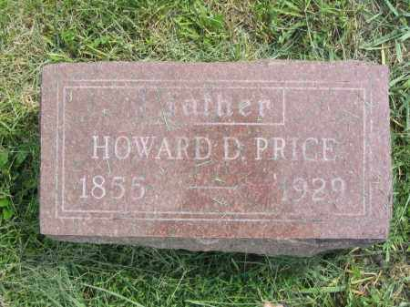 PRICE, HOWARD D. - Stephenson County, Illinois | HOWARD D. PRICE - Illinois Gravestone Photos