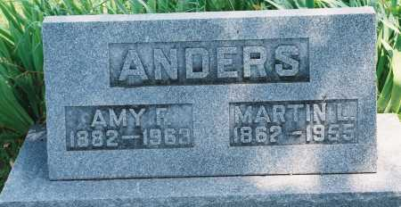 ANDERS, AMY F. - Tazewell County, Illinois | AMY F. ANDERS - Illinois Gravestone Photos