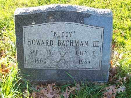 BACHMAN, HOWARD III - Tazewell County, Illinois | HOWARD III BACHMAN - Illinois Gravestone Photos