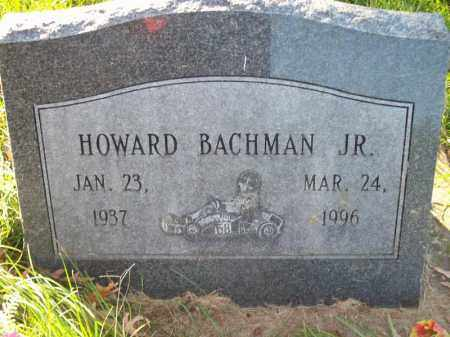 BACHMAN, HOWARD JR. - Tazewell County, Illinois   HOWARD JR. BACHMAN - Illinois Gravestone Photos