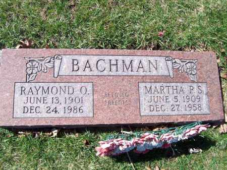 BACHMAN, RAYMOND O - Tazewell County, Illinois | RAYMOND O BACHMAN - Illinois Gravestone Photos