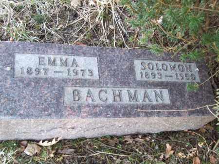 BACHMAN, SOLOMON - Tazewell County, Illinois | SOLOMON BACHMAN - Illinois Gravestone Photos
