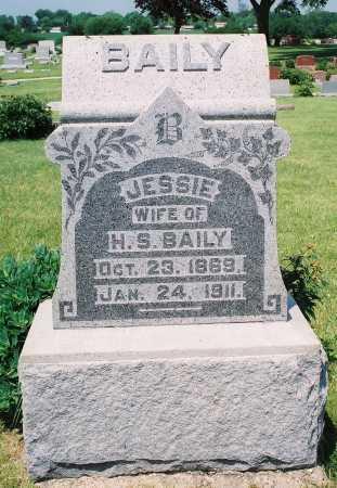 BAILY, JESSIE N. - Tazewell County, Illinois   JESSIE N. BAILY - Illinois Gravestone Photos