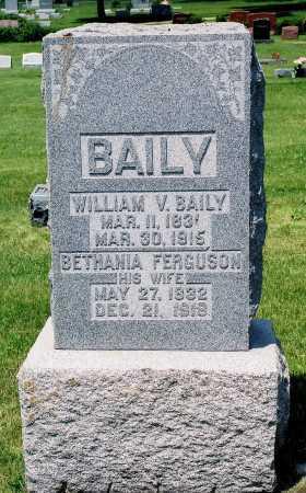BAILY, BETHANIA - Tazewell County, Illinois | BETHANIA BAILY - Illinois Gravestone Photos