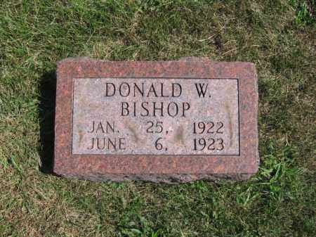 BISHOP, DONALD - Tazewell County, Illinois | DONALD BISHOP - Illinois Gravestone Photos