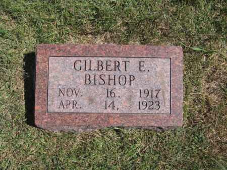BISHOP, GILBERT E - Tazewell County, Illinois | GILBERT E BISHOP - Illinois Gravestone Photos