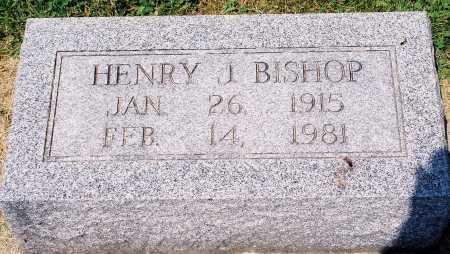BISHOP, HENRY J. - Tazewell County, Illinois | HENRY J. BISHOP - Illinois Gravestone Photos