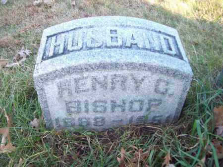 BISHOP, HENRY C - Tazewell County, Illinois | HENRY C BISHOP - Illinois Gravestone Photos