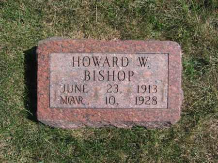 BISHOP, HOWARD W - Tazewell County, Illinois | HOWARD W BISHOP - Illinois Gravestone Photos