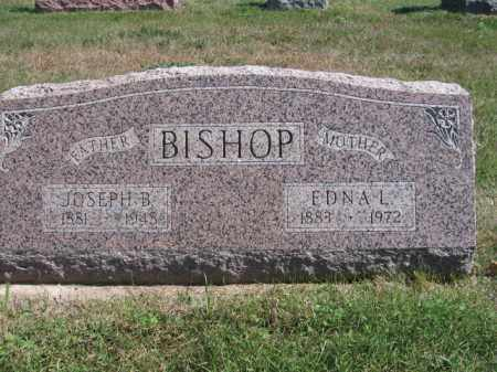 BISHOP, EDNA L - Tazewell County, Illinois | EDNA L BISHOP - Illinois Gravestone Photos