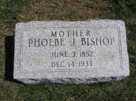 BISHOP, PHOEBE J - Tazewell County, Illinois   PHOEBE J BISHOP - Illinois Gravestone Photos
