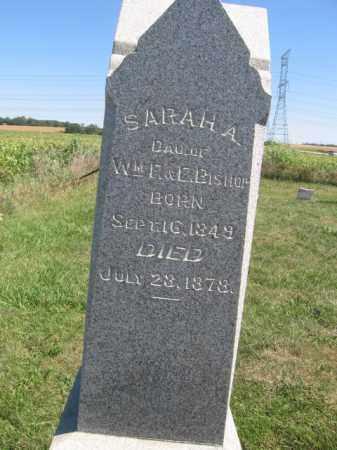 BISHOP, SARAH A - Tazewell County, Illinois   SARAH A BISHOP - Illinois Gravestone Photos