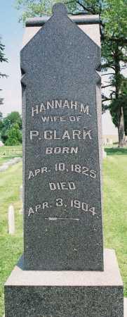 CLARK, HANNAH M. - Tazewell County, Illinois | HANNAH M. CLARK - Illinois Gravestone Photos