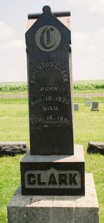 CLARK, PHILOTUS - Tazewell County, Illinois | PHILOTUS CLARK - Illinois Gravestone Photos