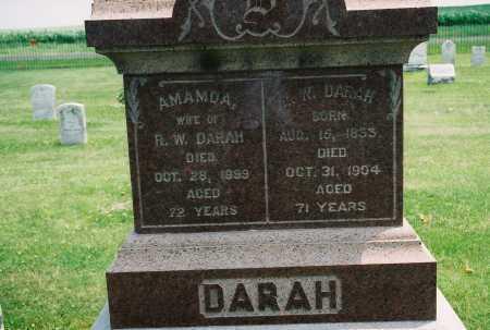 DARAH, AMANDA - Tazewell County, Illinois | AMANDA DARAH - Illinois Gravestone Photos